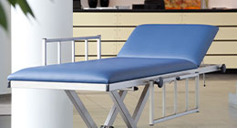 MRI patient transport tables and instrument table